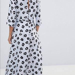 30224d49069 ASOS Dresses - 🎉SALE🎉ASOS DESIGN Jacquard Dress in Animal Print